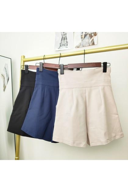 2322 High-waisted pants with zipper design 拉链设计高腰裤