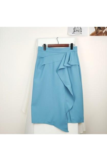 2323 Temperament fishtail half-body dress 气质鱼尾半身裙