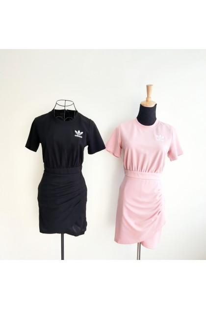 3305  Adidas Sports Style One-piece Dress Adidas 运动风连身裙